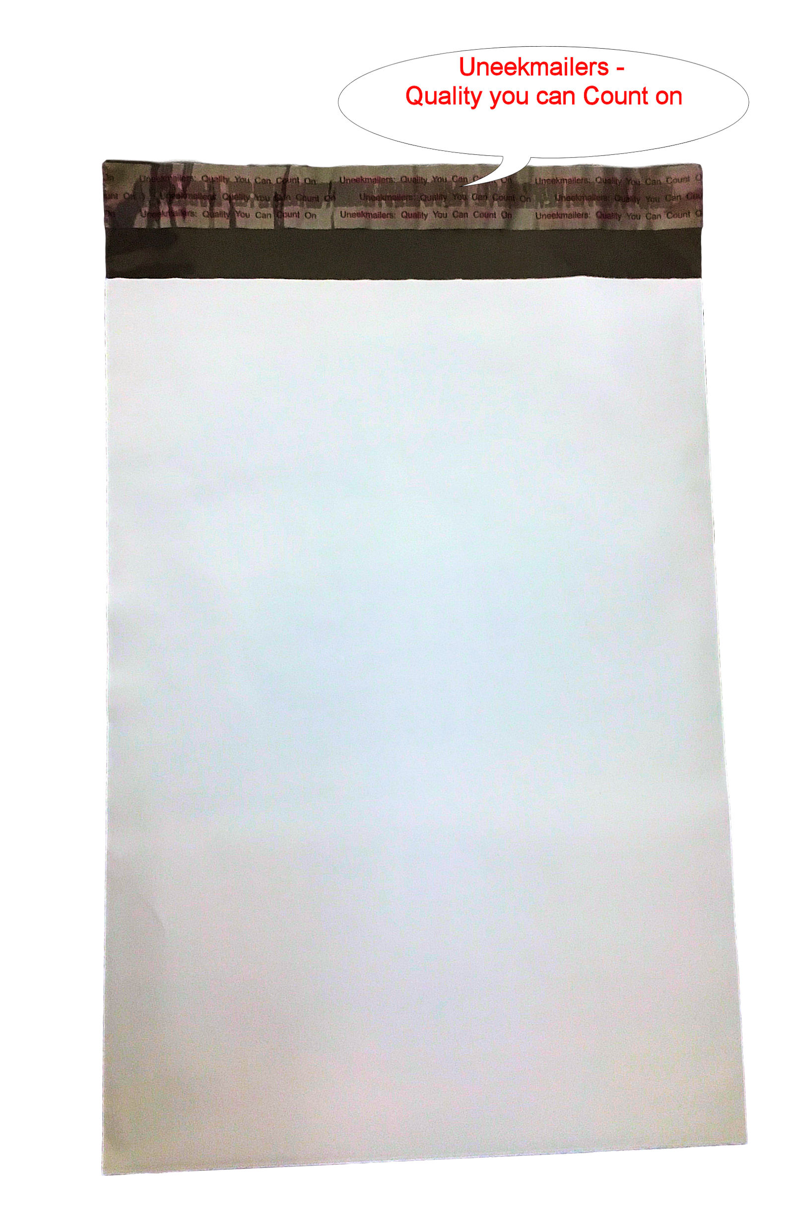 500 12x16 White Poly Mailer Plastic Shipping Mailing Bag Envelopes Polybags Polymailer Line