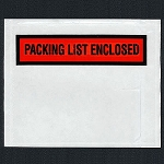 Packing List Envelopes 4 1/2 x 6