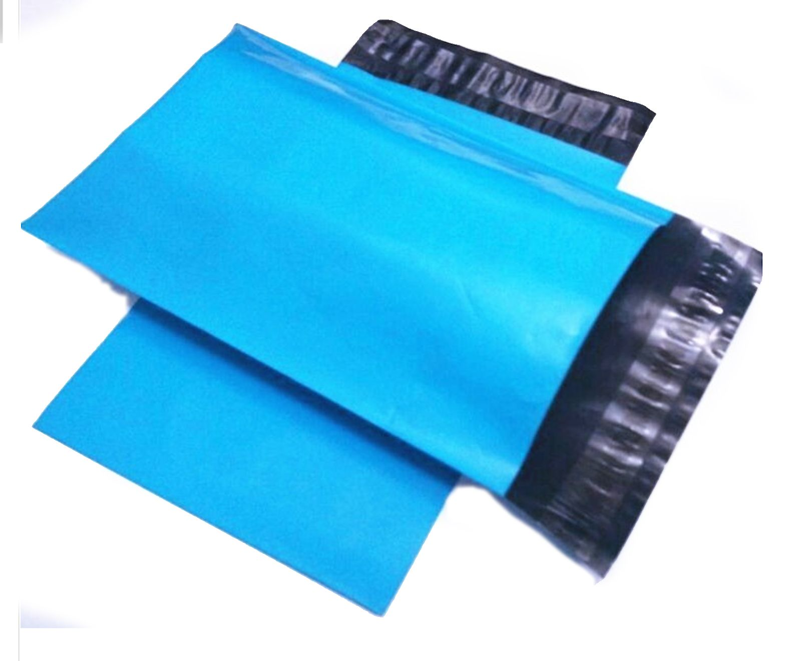 100 10x13 blue poly mailer plastic shipping mailing bag
