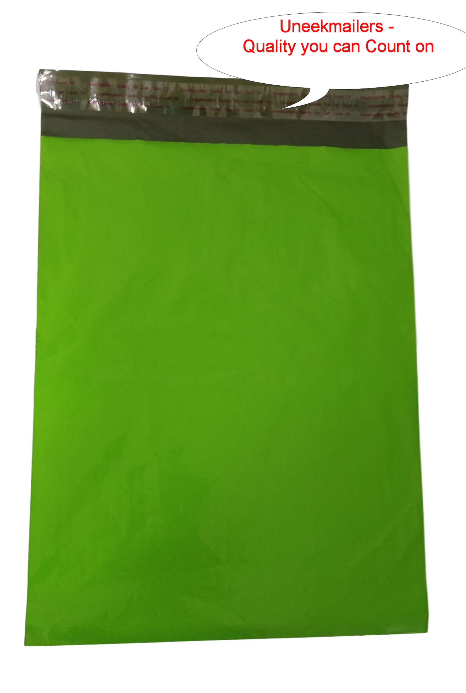 1000 10x13 Green Poly Mailer Plastic Shipping Bag