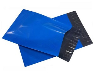 200 9x12 Blue Poly Mailer Plastic Shipping Mailing Bag Envelopes Polybags Polymailer Line