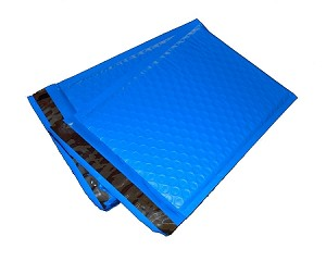 25 6.5x10 Blue Poly Bubble Mailer Envelope Shipping Wrap Paper Mailing