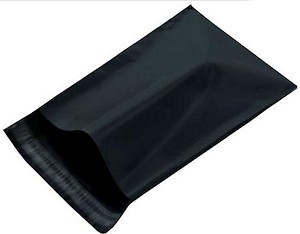 500 Black 10x13 Poly Mailer Plastic Shipping Mailing Bag Envelopes Polybags Polymailer Line