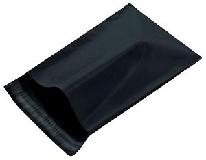 500 Black 9x12 Poly Mailer Plastic Shipping Mailing Bag Envelopes Polybags Polymailer Line