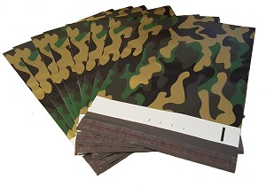 1000 Camo 9x12 Poly Mailer Plastic Shipping Mailing Bag Envelopes Polybags Polymailer Line