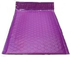 25 6.5x10 Purple Poly Bubble Mailer Envelope Shipping Wrap Paper Mailing