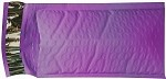 100 4x8 Purple Poly Bubble Mailer Envelope Shipping Wrap Paper Mailing Free Shipping