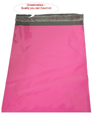 100 12x15.5 Pink Poly Mailer Plastic Shipping Mailing Bag Envelopes Polybags Polymailer Line