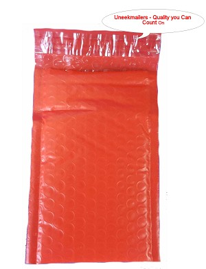 250 6x10 Red Poly Bubble Mailer Envelope Shipping Wrap Paper Mailing