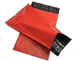 100 9x12 Red Poly Mailer Plastic Shipping Mailing Bag Envelopes Polybags Polymailer Line