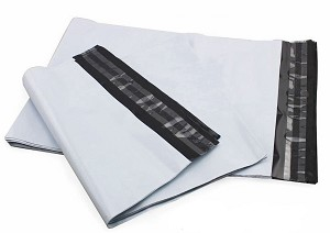 500 12x15.5 White Poly Mailer Plastic Shipping Mailing Bag Envelopes Polybags Polymailer Line 2.0 Mil