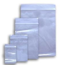 "500 Ziplock Zip Lock 4x4 Small Reclosable Clear Plastic Poly Bags 2 Mil 4""x4"""