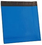 25 24x24 Blue Poly Mailer Plastic Shipping Bag Envelopes Polybags Polymailer